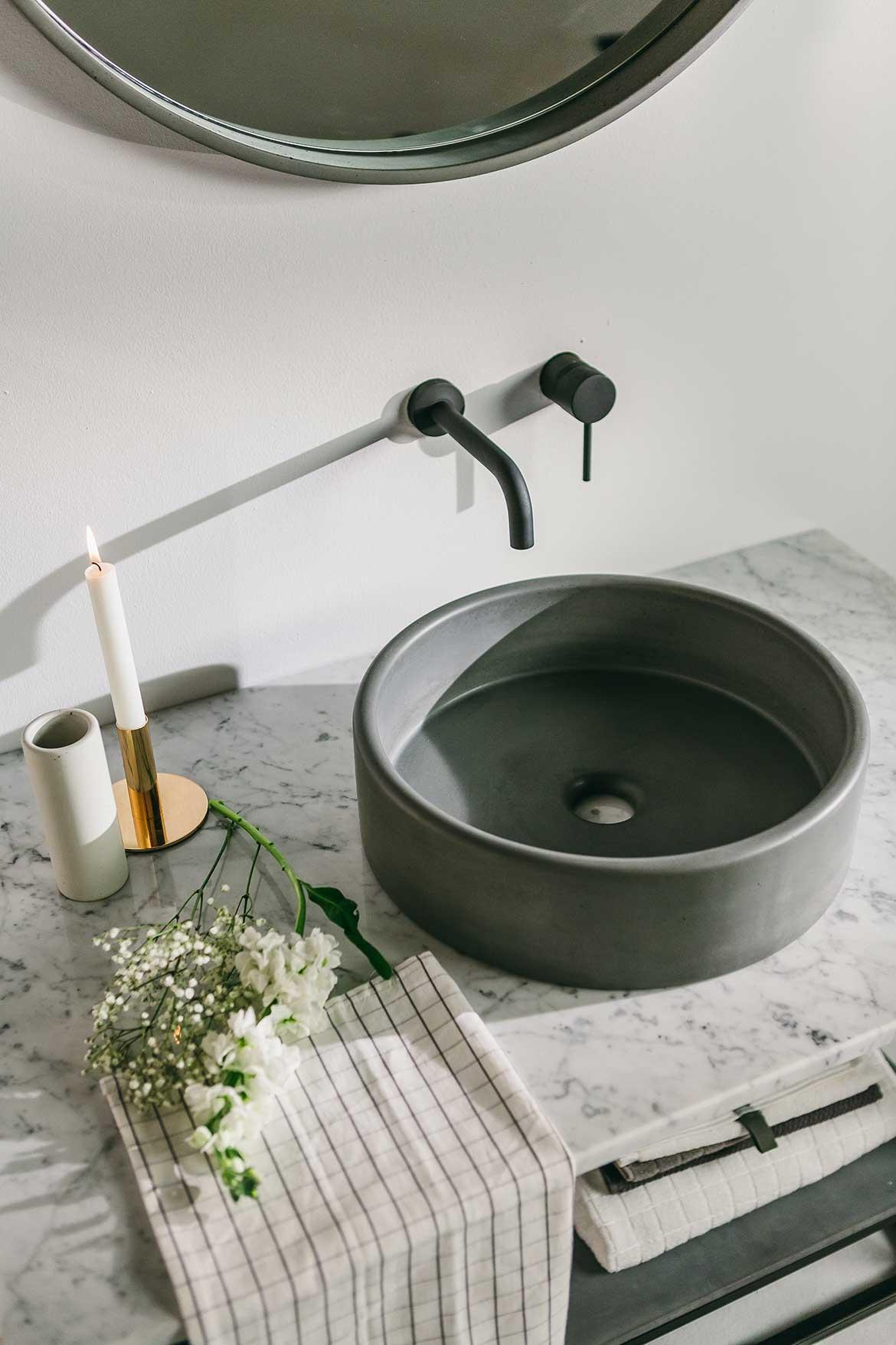Nood Co Concrete bathroom basin
