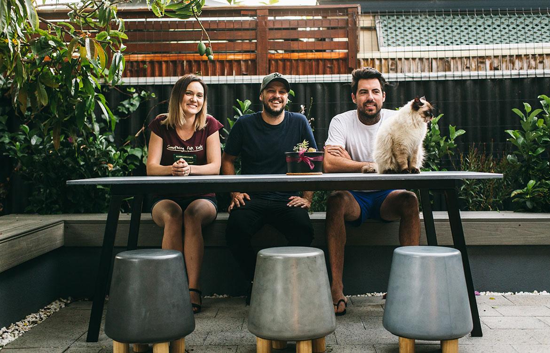 Nood Co Founders Matt Di Costa Kim Di Costa Chris Walker