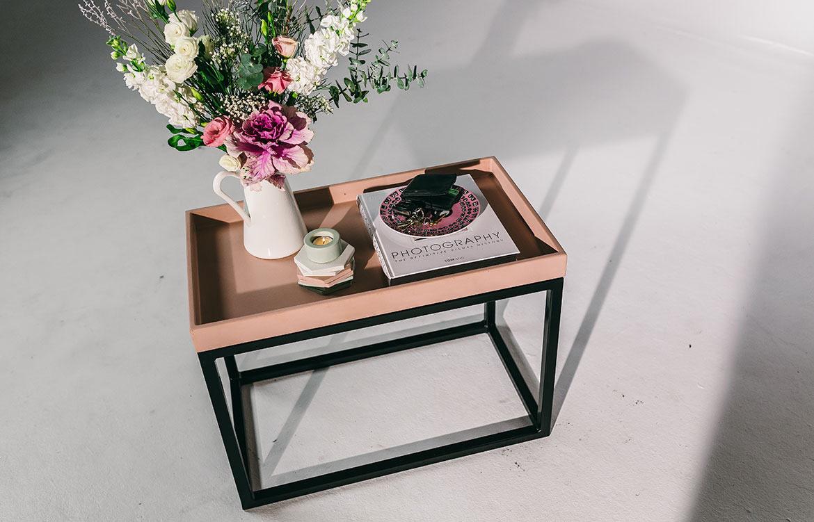 Nood Co Concrete end table
