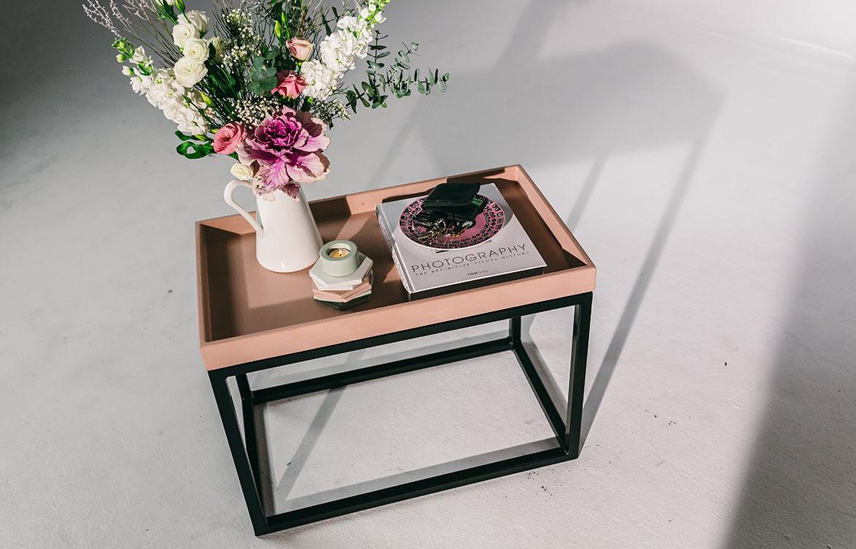 Nood Co Concrete end table
