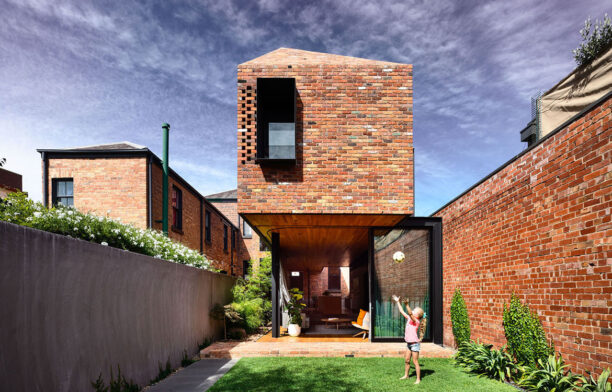 North Melbourne Terrace Matt Gibson Architecture + Design cc Derek Swalwell courtyard