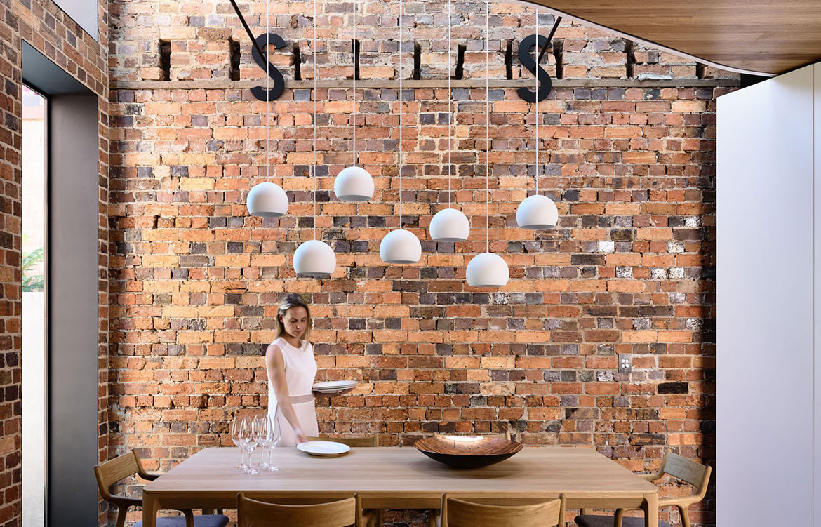 North Melbourne Terrace Matt Gibson Architecture + Design cc Derek Swalwell dining area