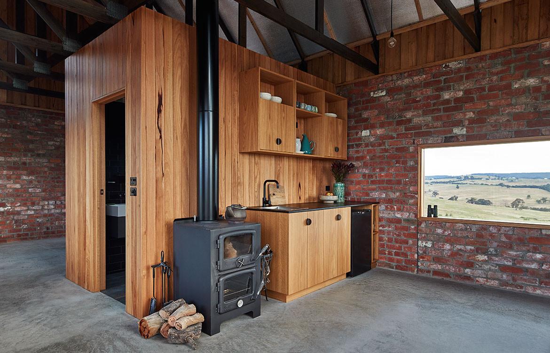 Nulla Vale MRTN Architects CC Peter Bennetts kitchen
