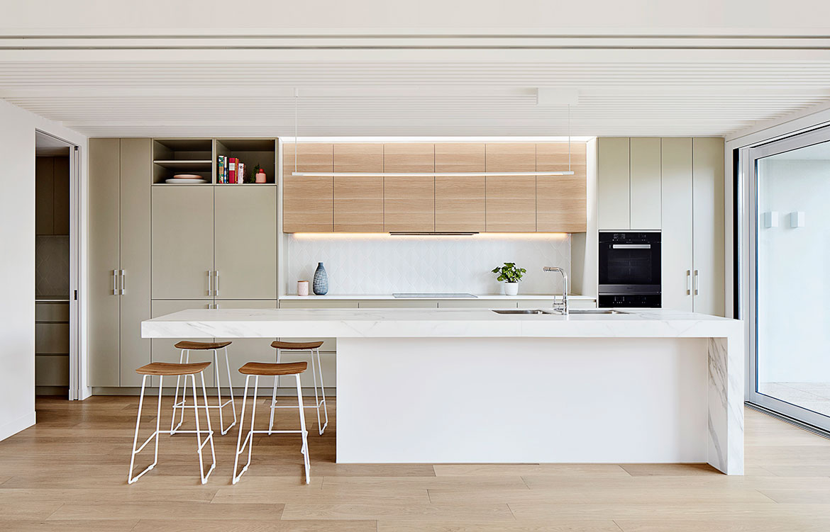 Oak House Bryant Alsop Architects kitchen