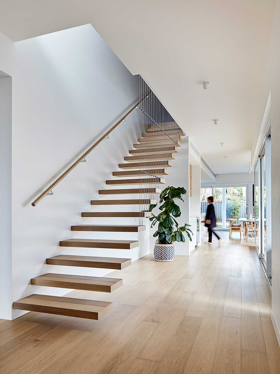 Oak House Bryant Alsop Architects staircase
