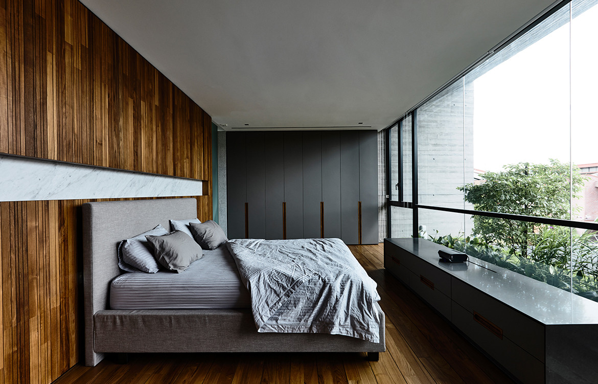 Ong Ong Faber Hill Singapore CC Derek Swalwell master bedroom