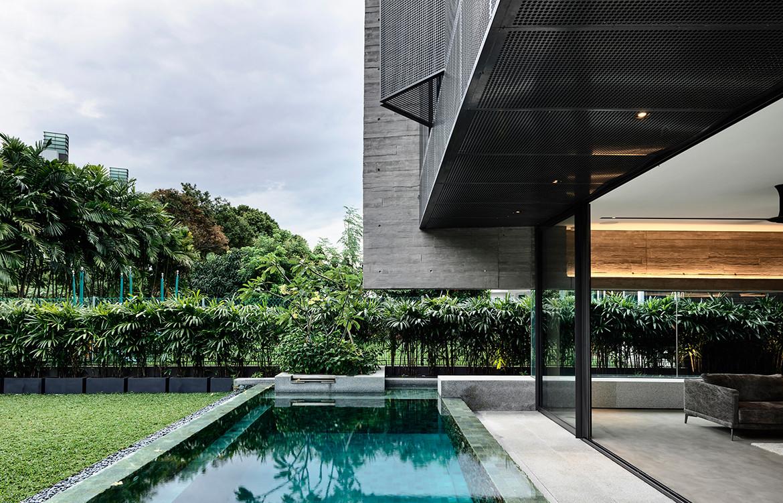 Ong Ong Faber Hill Singapore CC Derek Swalwell pool exterior