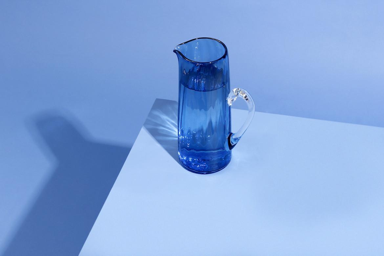 Optic Jug Blue on Blue