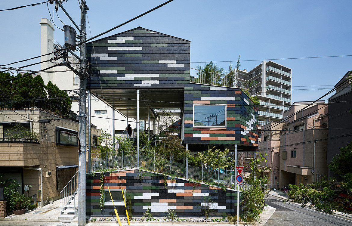 Overlap House by akihisa hirata architecture office new approaches for medium density living