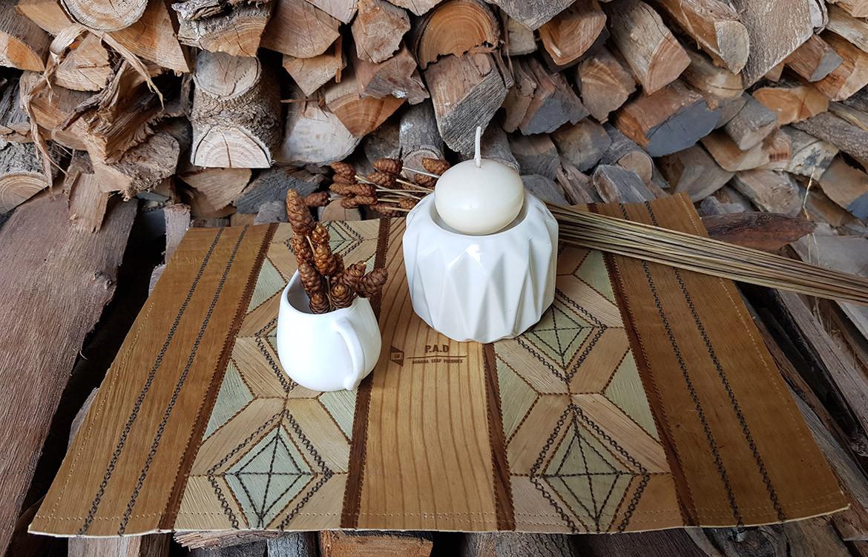 P.A.D Banana Leaf Product Table Vase Style Bangkok 2019