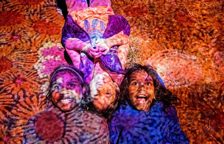 Parrtjima Festival Alice Springs MacDonnell Ranges