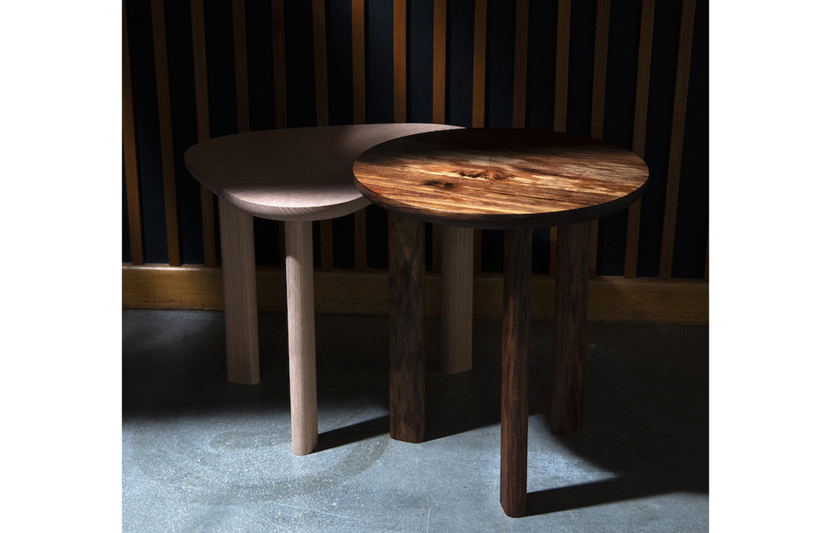 Pebble Side Table Contrast