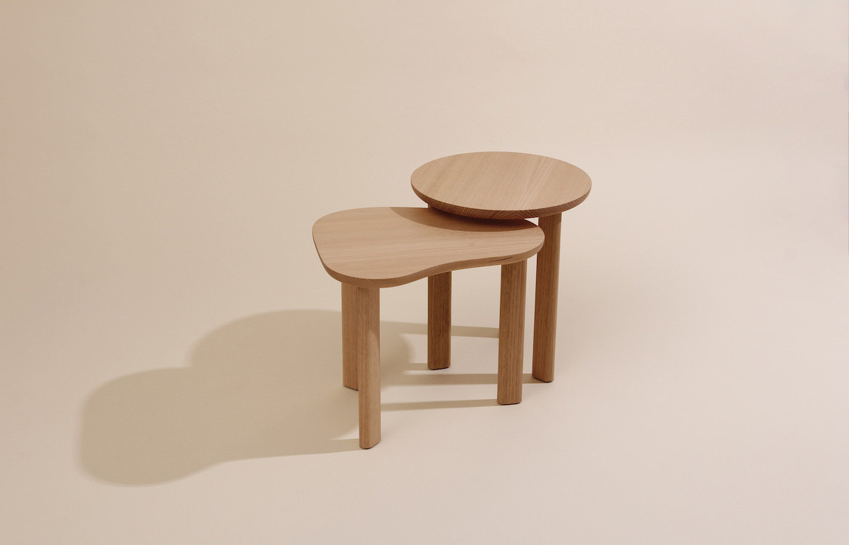 Pebble Side Table Light Table