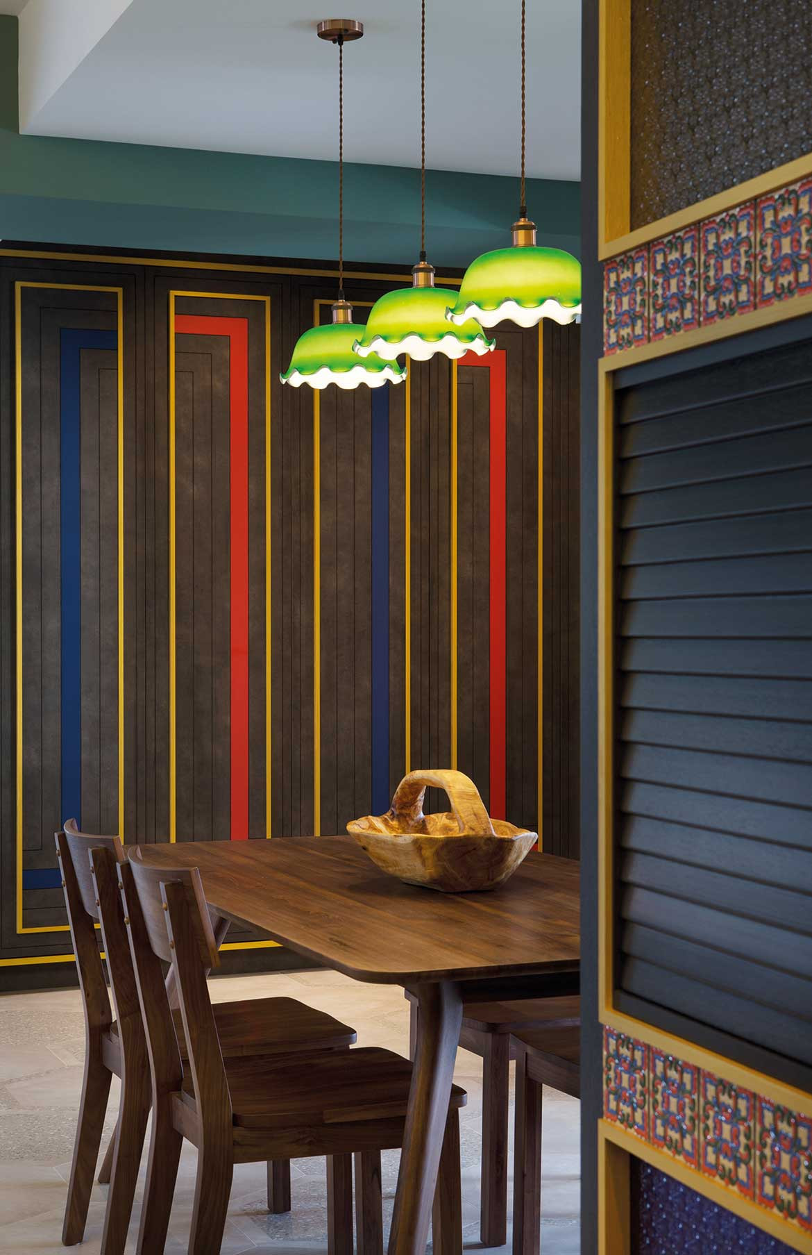 Peranakan apartment Linear Style Concepts lighting