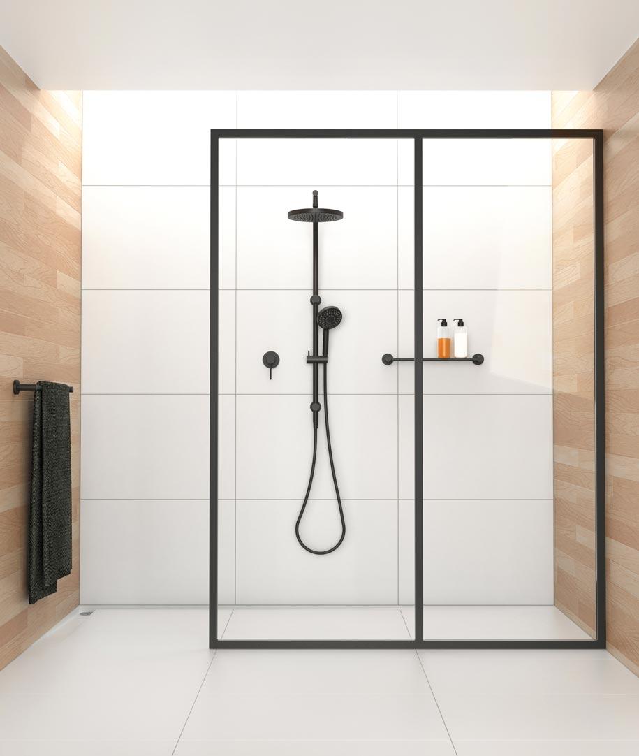 Phoenix-Vivid-Twin-Shower-Matte-Black-V726-MB