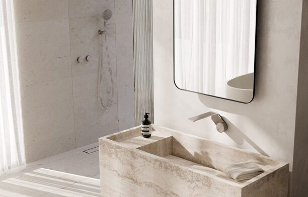 Named Best of the Best at the Red Dot Awards 2020, the Axia collection by Phoenix Tapware presents a fresh take on modern minimalist bathroom design.