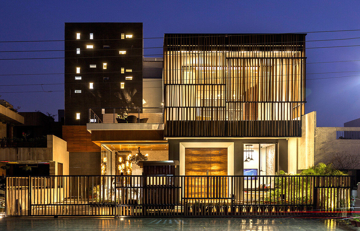 Pool Yard House Studio Ardete CC Purdesh Dev Nikhanj exterior screens