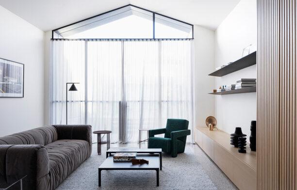 Port Melbourne House Pandolfini Architects CC Rory Gardiner living space