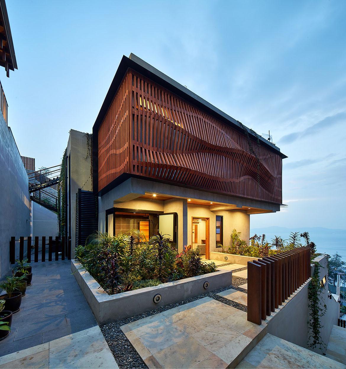 Port Moresby House Studio Workshop Papua New Guinea cc Peter Bennetts exterior