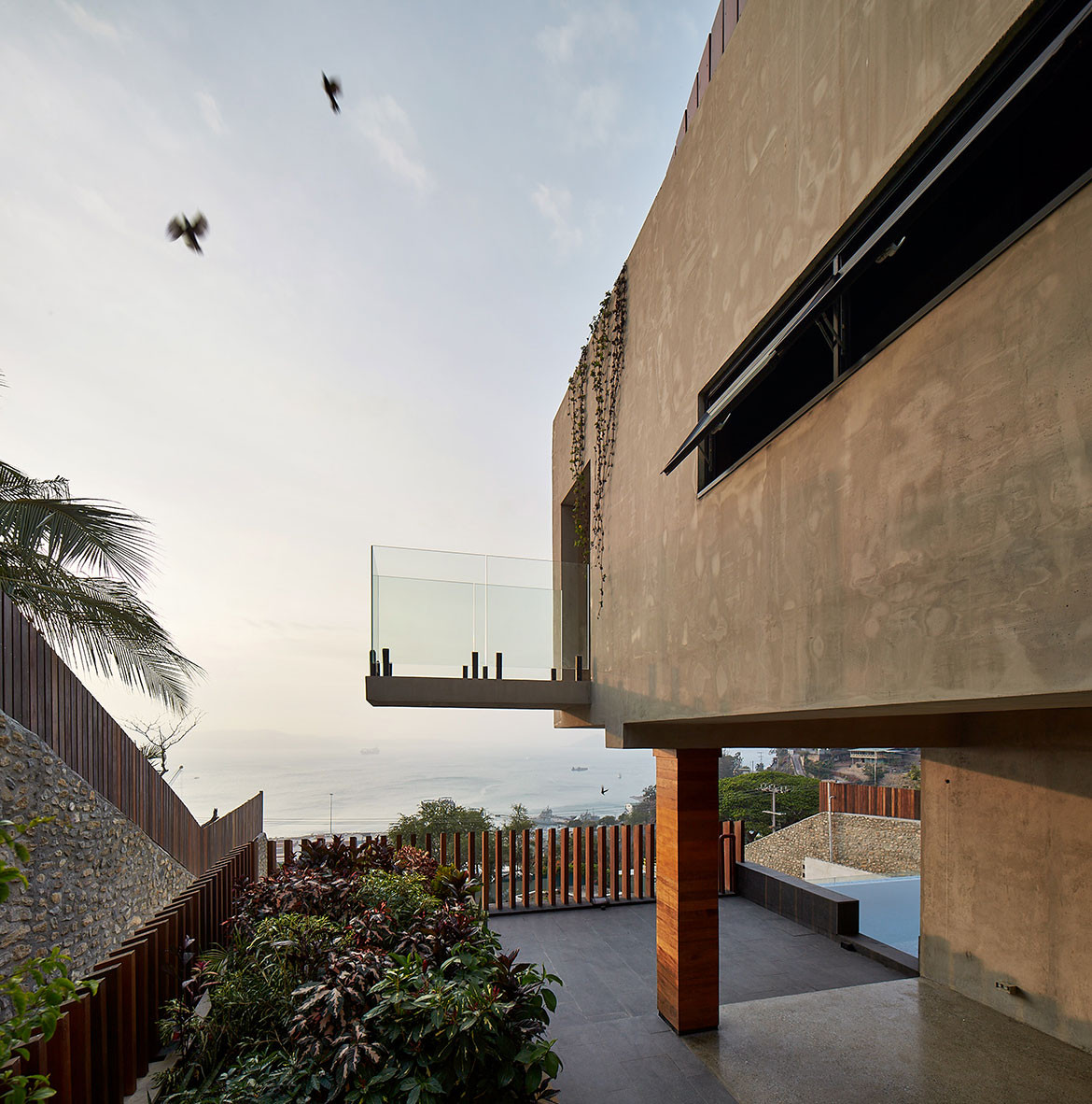 Port Moresby House Studio Workshop Papua New Guinea cc Peter Bennetts structure
