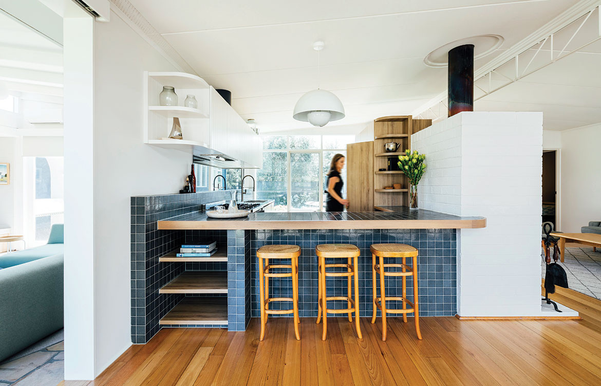 Kitchen design inspiration | Portsea Beach Shack by Pleysier Perkins