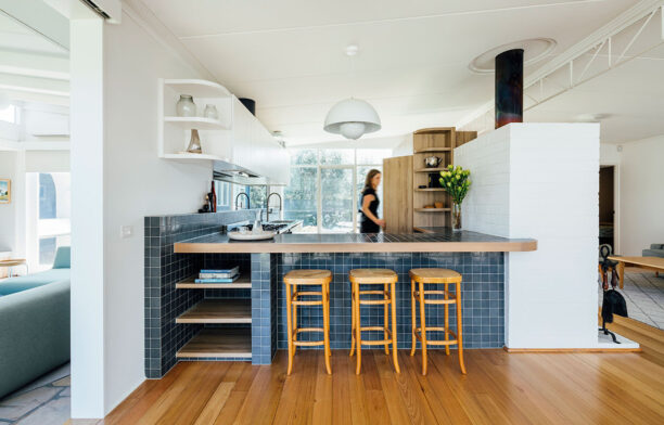 Portsea Beach Shack Pleysier Perkins CC Michael Kai kitchen