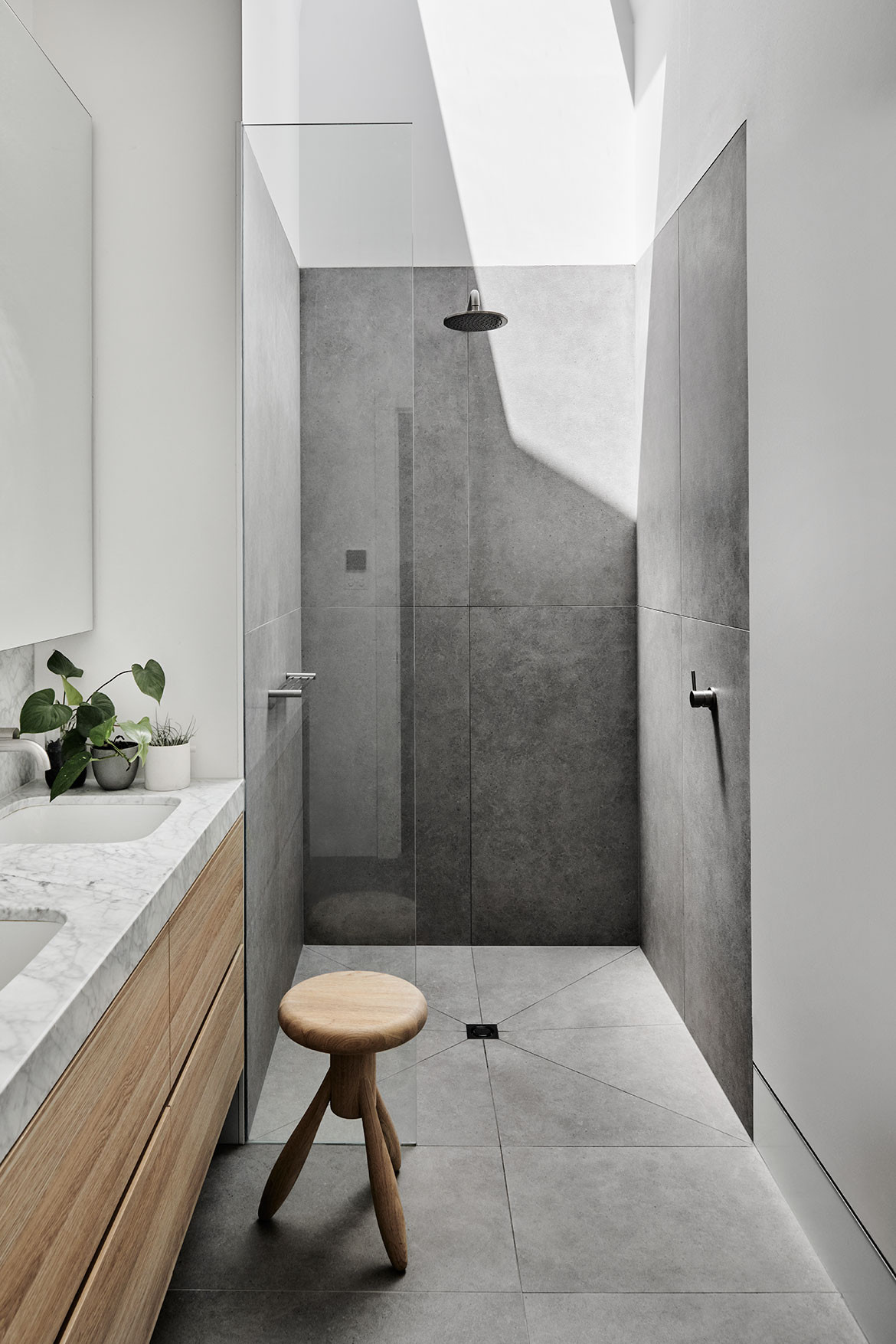 Prahran Residence Pipkorn Kilpatrick cc Tom Blachford bathroom