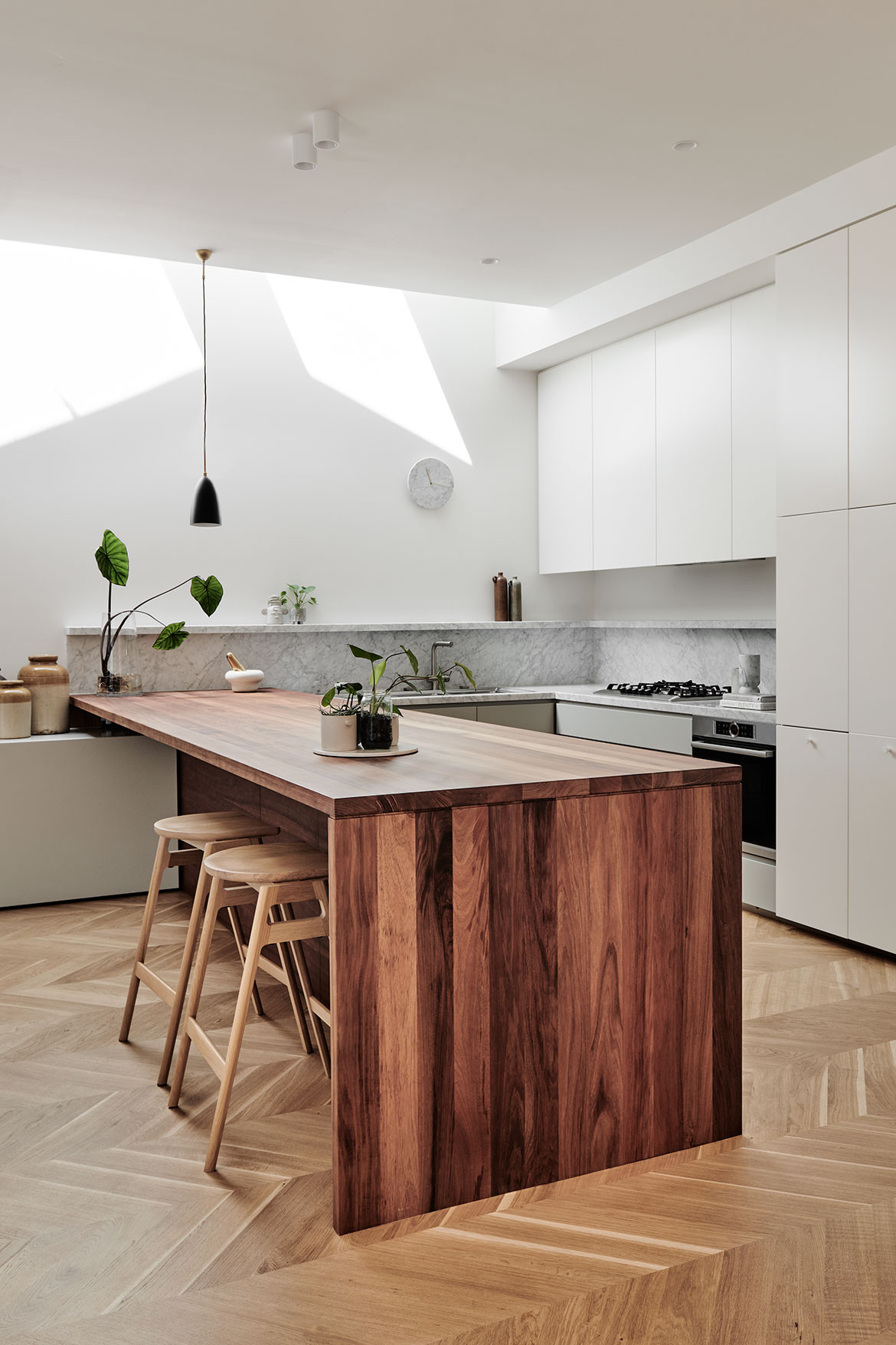 Prahran Residence Pipkorn Kilpatrick cc Tom Blachford custom joinery