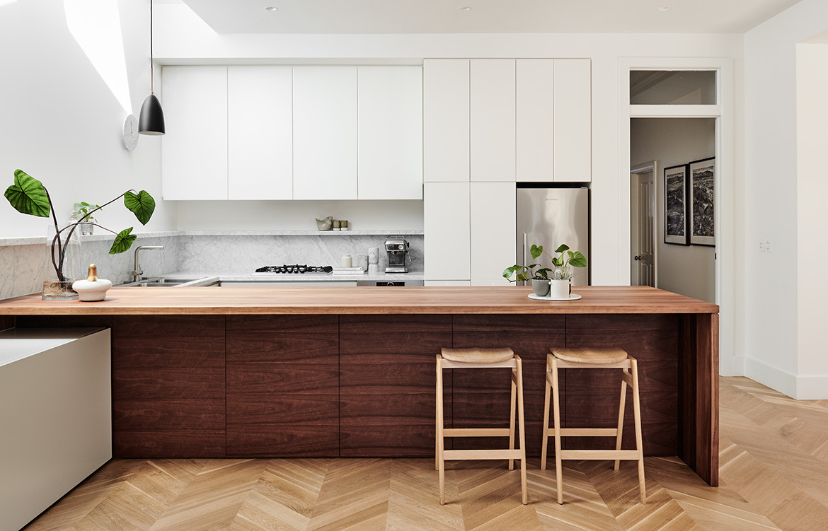 Prahran Residence Pipkorn Kilpatrick cc Tom Blachford kitchen