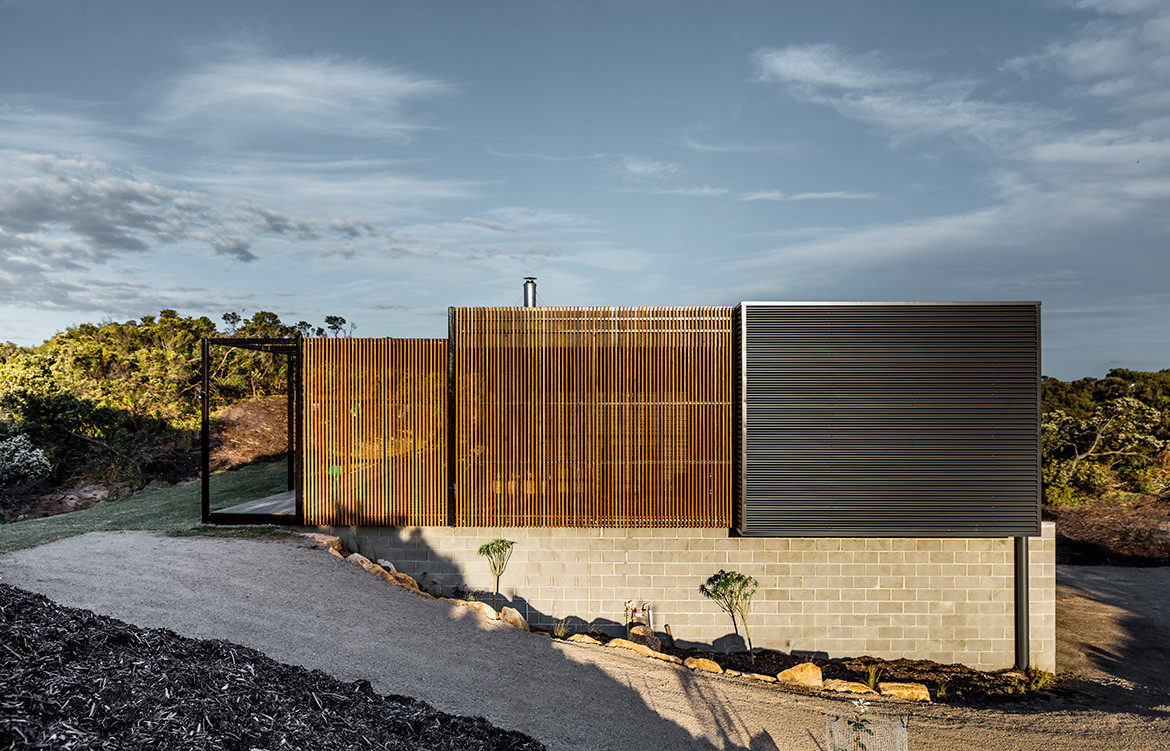 Prebuilt St.Andrews Beach House Pleysier Perkins Kit Homes Australia CC Michael Kai