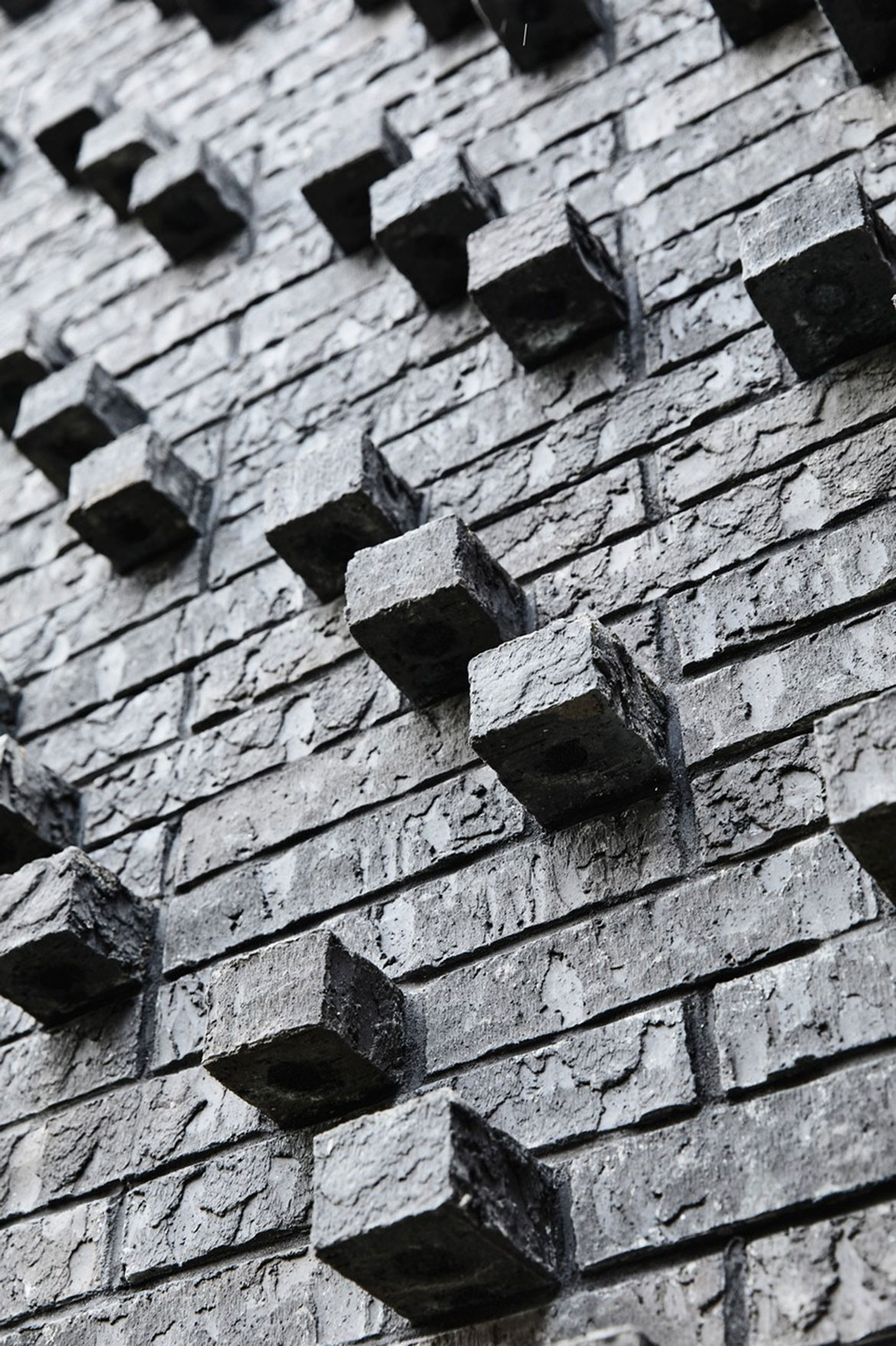cess Wales House HYLA Architects brickwork