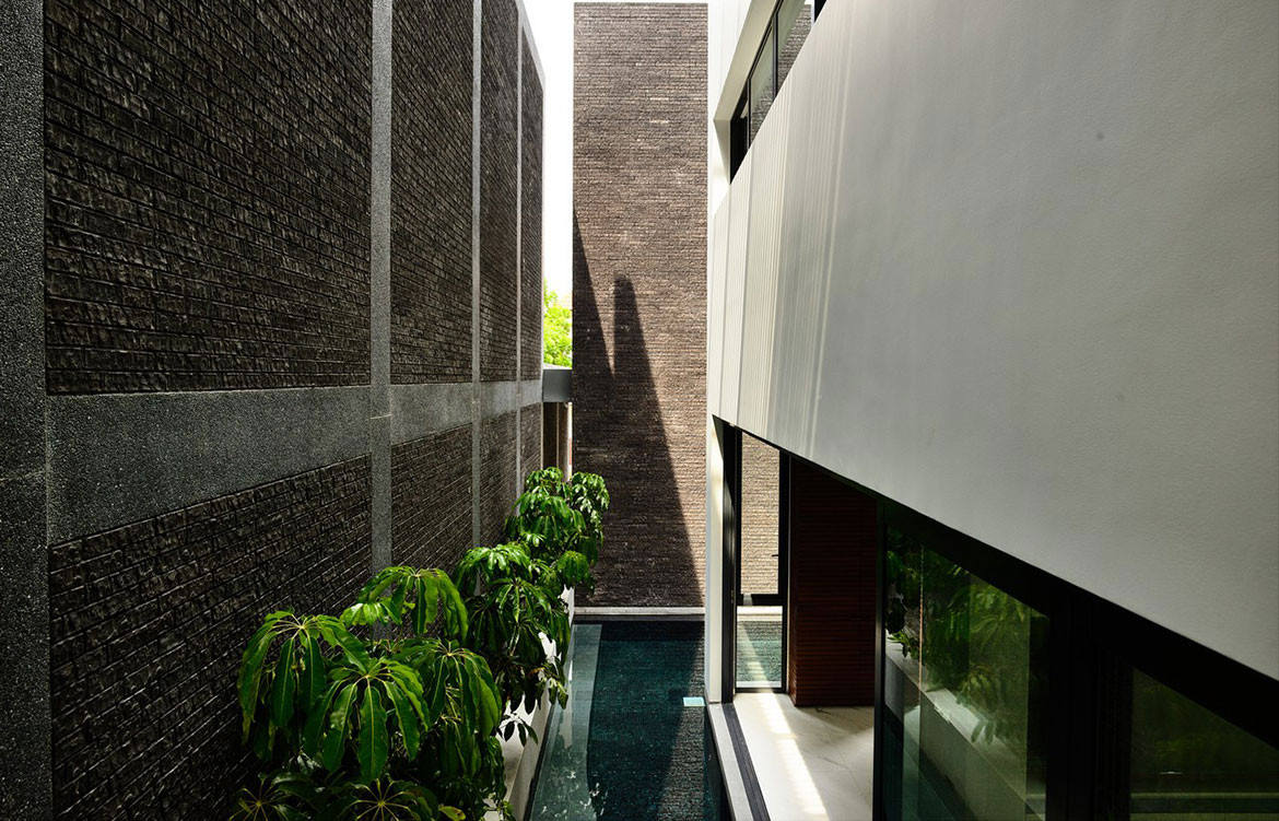 cess Wales House HYLA Architects pool