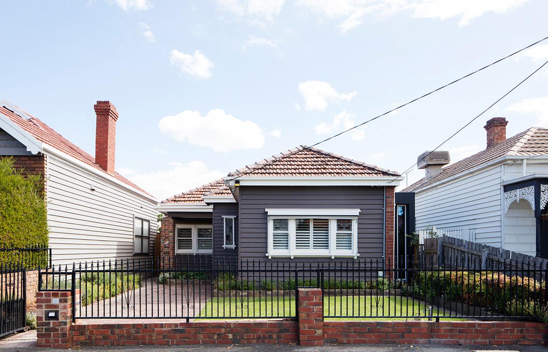 Allan Street House Gardiner Architects CC Rory Gardiner back yard