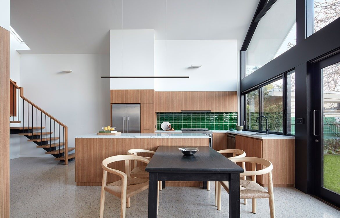 RKD Architects Kingsville House Kitchen Dining