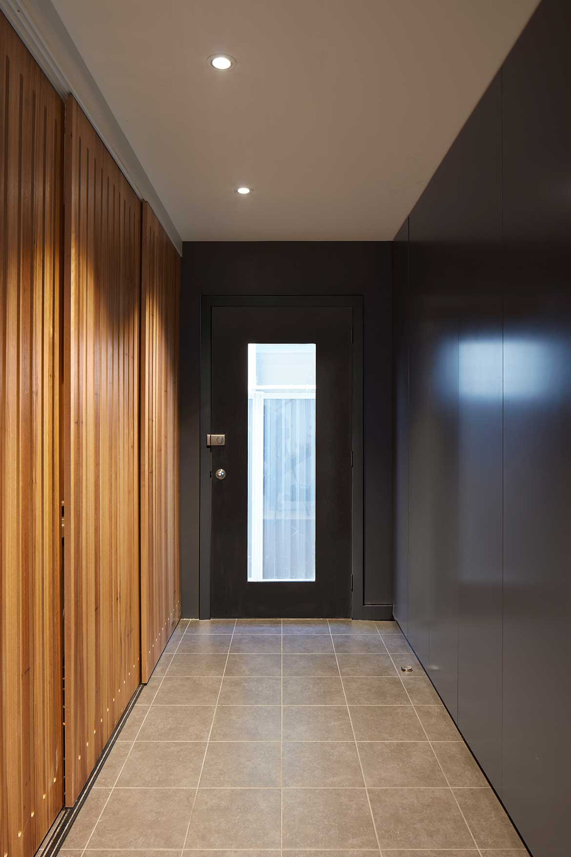 RKD Architects Kingsville House entrance