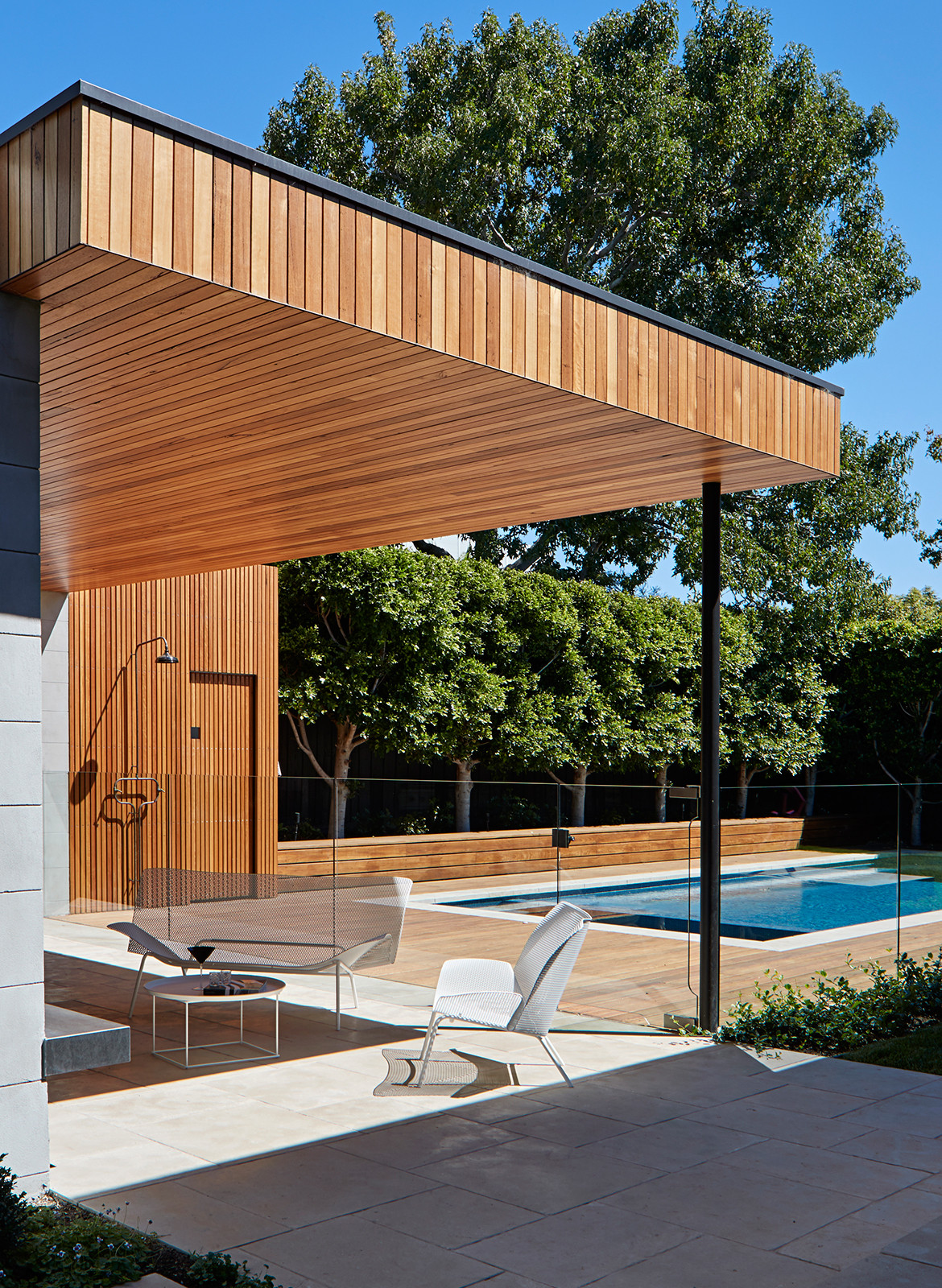 Pavilion House Robson Rak Architects CC Shannon McGrath pool