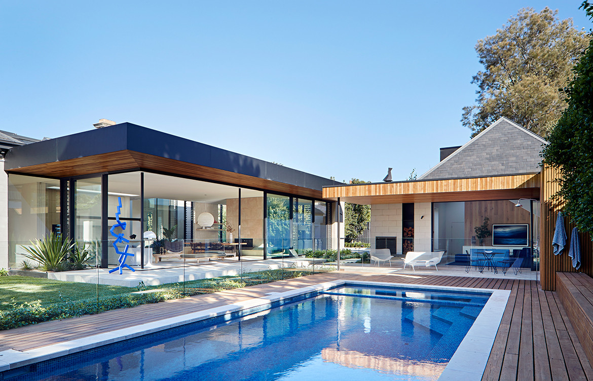 Pavilion House Robson Rak Architects CC Shannon McGrath pool pavilion