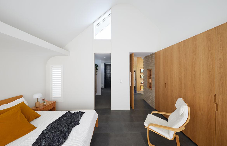 RZB House CAPA Studio CC Douglas Mark Black bedroom