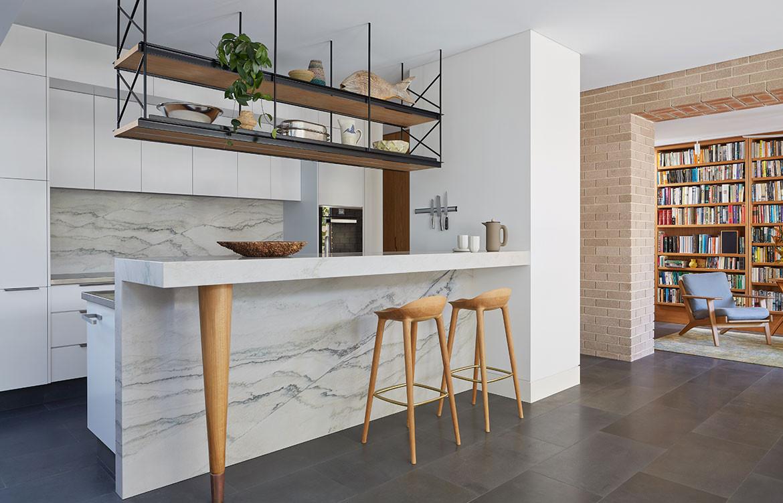 RZB House CAPA Studio CC Douglas Mark Black kitchen bench