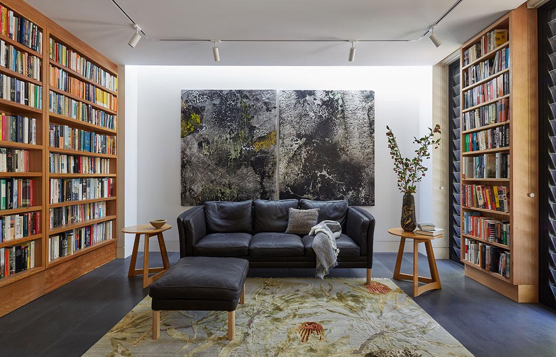 RZB House CAPA Studio CC Douglas Mark Black living space