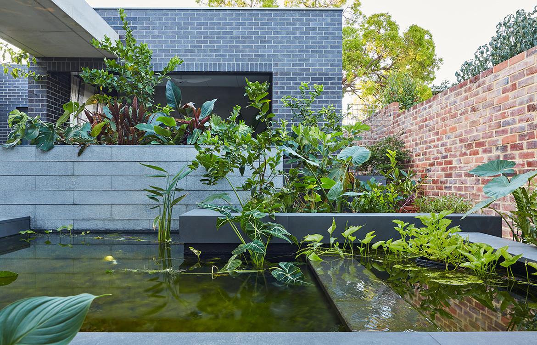 RZB House CAPA Studio CC Douglas Mark Black pond
