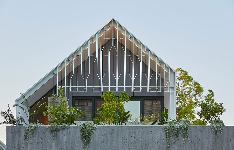 RZB House CAPA Studio CC Douglas Mark Black roof