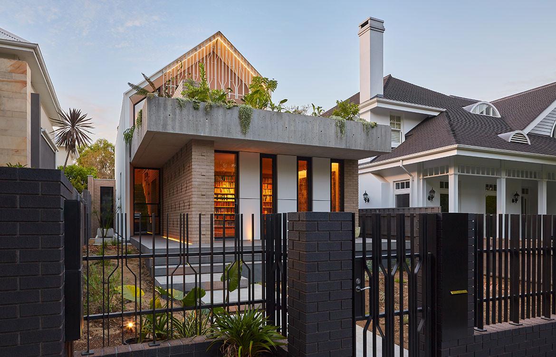 RZB House CAPA Studio CC Douglas Mark Black street