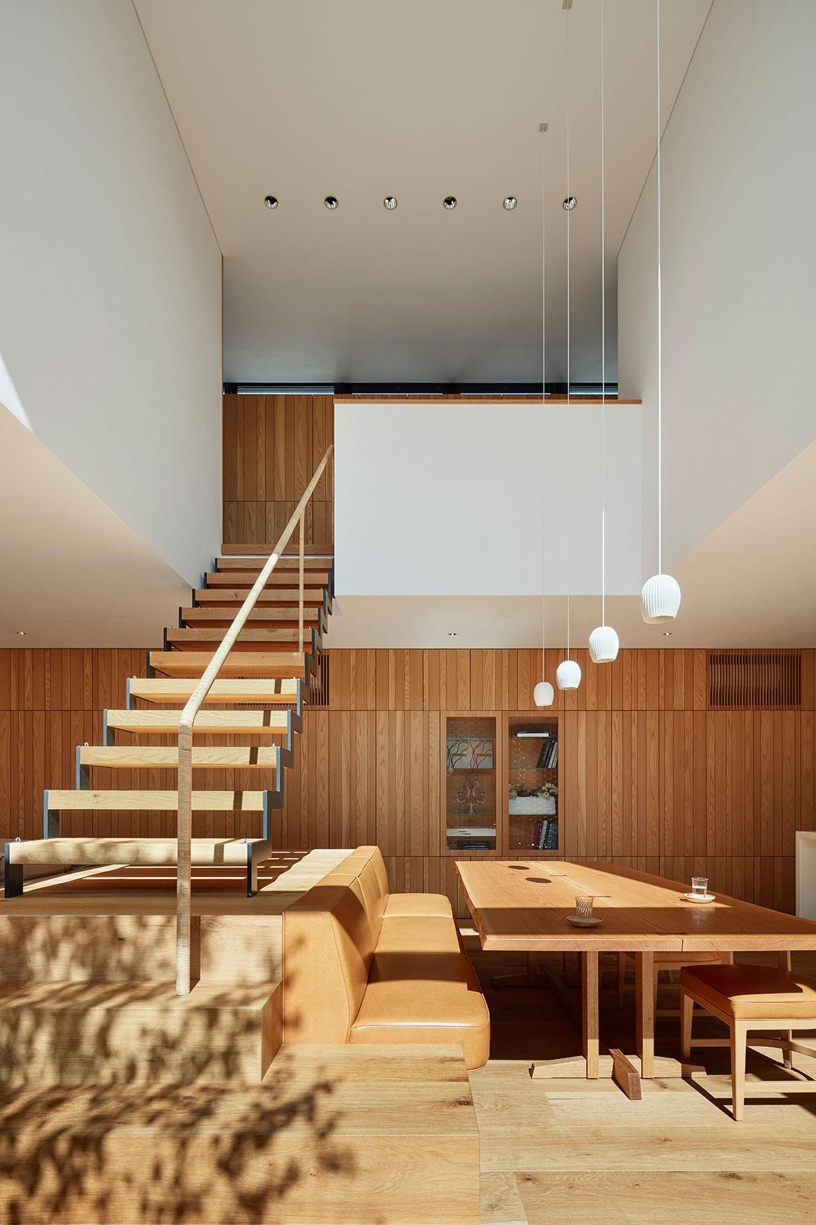 Radiator House Hiroshi Nakamura Architects interior