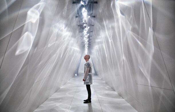 Raytrace Installation Benjamin Hubert Dekton Cosentino Milan 2019