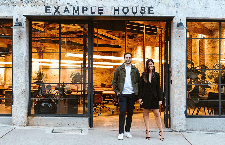 Rebecca Gibbs Andy El-Bayeh Example House