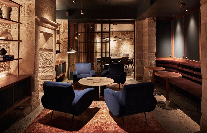 Rebecca Gibbs Example House lounge