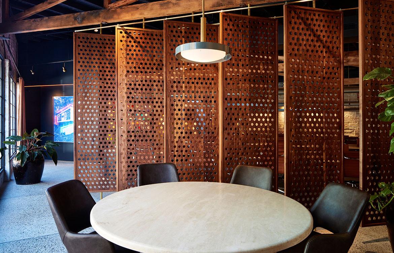 Rebecca Gibbs Example House meeting room