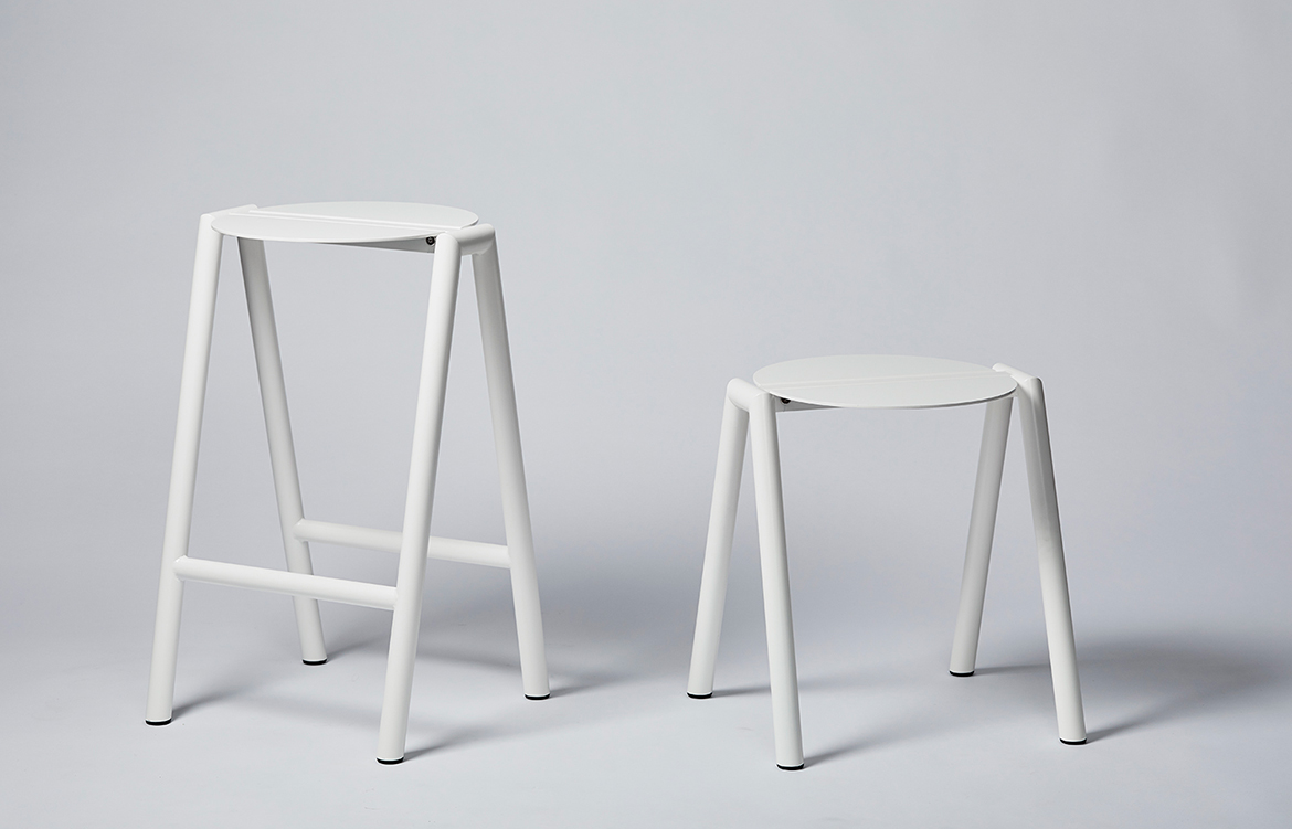 Rene Linssen Furnished Forever low high stool
