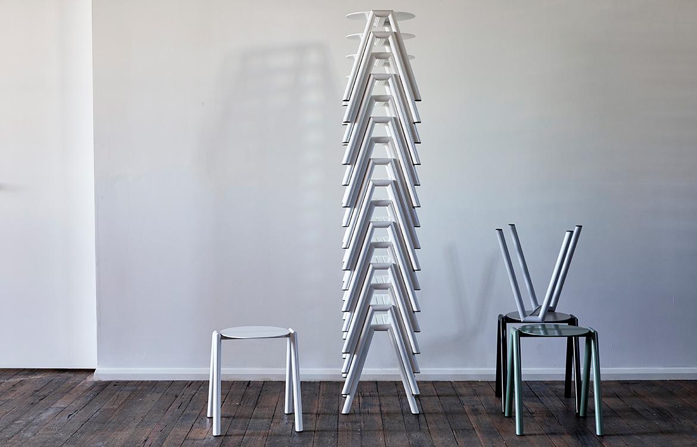 Rene Linssen Furnished Forever stackable stools